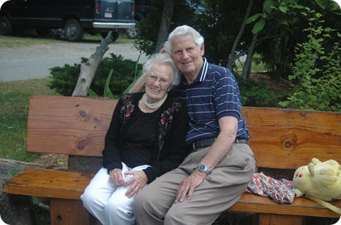 Alf and Margaret Bayne
