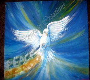 Jehovah Shalom (Holy Spirit )Dove